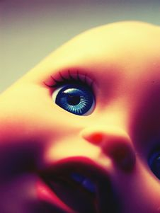 Free Creepy Retro Doll Stock Images - 13931974