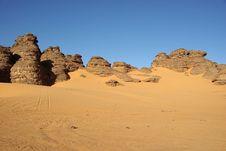 Free Libyan Desert Royalty Free Stock Photography - 13933047