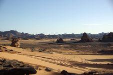Landscape In Libya Stock Image