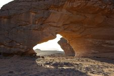 Arch In Libya Royalty Free Stock Photo