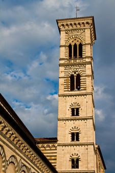 Free Prato Bell Tower Royalty Free Stock Image - 13934476