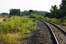 Free Railway Path Transportation Royalty Free Stock Photos - 13936318