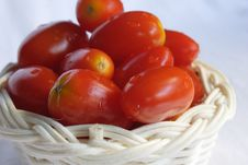 Grape Tomatoes Stock Image