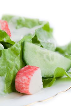 Free Salad Royalty Free Stock Photos - 13936738
