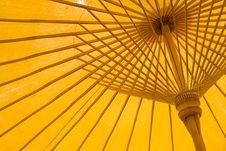 Free Yellow Umbrella Stock Photo - 13937050