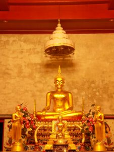 Free Buddha In The Temple Stock Images - 13937594