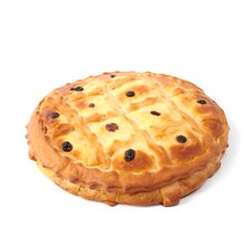 Pie With Raisin Stock Photography