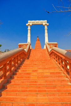 Free Stairs To Pagodas Royalty Free Stock Photography - 13938097