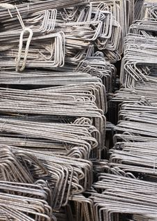 Free Reinforcing Steel Background Royalty Free Stock Image - 13938146
