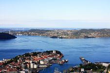 Free Bergen Landscape In Norway Royalty Free Stock Photography - 13938207