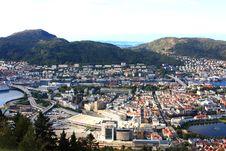 Free Bergen City Royalty Free Stock Photo - 13938235