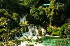 Free Krka Waterfall Stock Images - 13939144