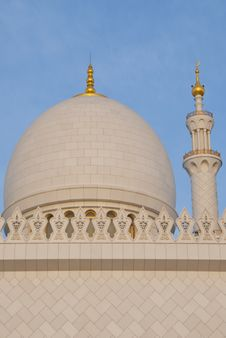 Free Dome And Minaret Stock Image - 13939741