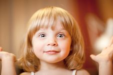 Free Little Girl Royalty Free Stock Photo - 13939905