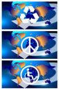 Free World Symbols Stock Photo - 13945060
