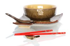 Free Japanese Dishware Royalty Free Stock Photo - 13940025