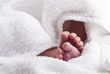 Free Baby Feet Stock Photography - 13940652