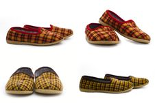 Free Pairs Of Kid S Slippers Royalty Free Stock Photography - 13941267