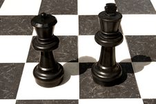 Free Big Outdoor Chess Board. Royalty Free Stock Photos - 13941958
