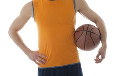 Free Basketball Player Royalty Free Stock Photography - 13942297