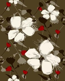 Free Floral Pattern Royalty Free Stock Images - 13942769