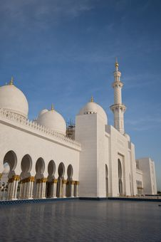 Free Exterior Splendor Of The Mosque Stock Photo - 13942920