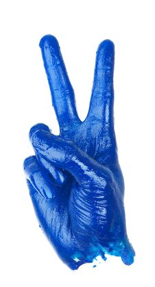 Free Victory Hand Sign Royalty Free Stock Images - 13943789
