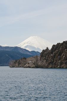 Free Mount Fuji, Hakone, Lake Ashino Royalty Free Stock Photo - 13943895