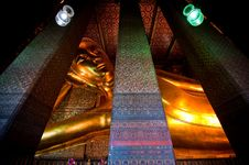 Free Wat Pho Temple Of Thailand Royalty Free Stock Photography - 13944467