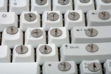 Free Drawing  Pin And Keyboard Stock Photos - 13944543
