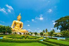 Free Biggest Buddha Image Stock Photography - 13944642