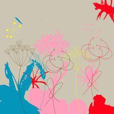 Free Colorful Grunge Background Stock Photos - 13944643
