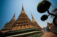 Free Wat Pho Royalty Free Stock Photography - 13944667