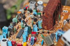Free Old Motherboard Stock Photography - 13944802