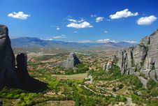 Free View Of Meteora Royalty Free Stock Photo - 13944915