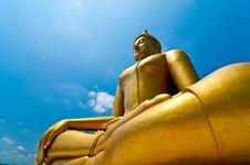 Free Biggest Buddha Image Royalty Free Stock Photo - 13944935