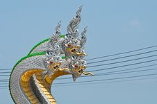 Free Naga Statue Royalty Free Stock Images - 13945059