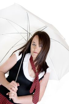 Free Woman Dressed In School Uniform Royalty Free Stock Images - 13945259