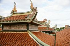 Free Chinese Roof Stock Photography - 13945362