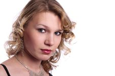 Free Portrait Of Beautiful Young Woman Royalty Free Stock Images - 13945989