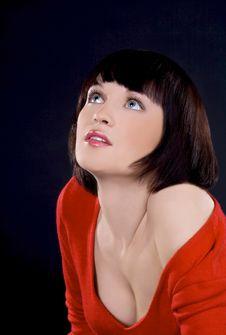 Free Girl Posing In Studio Royalty Free Stock Photo - 13946315