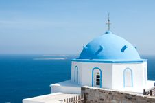 Free Greek Church Stock Image - 13946371