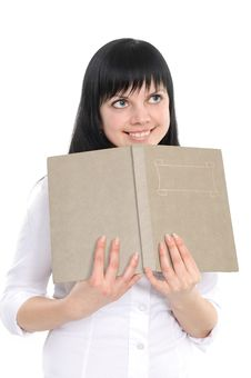 Free Young Girl With The Book Stock Photos - 13946453