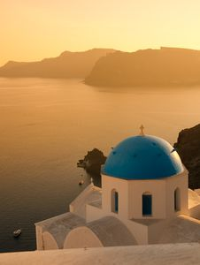 Free Greek Church Stock Photography - 13946672