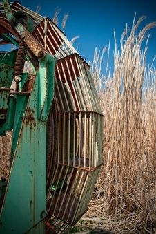 Free Rusty Harvester Stock Image - 13947311