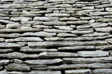 Free Roof Of Stones Stock Photography - 13947532