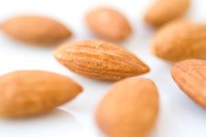 Free Almonds Royalty Free Stock Photos - 13948078