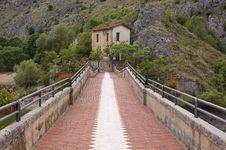 Free Bridge And House Stock Photo - 13948230