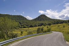 Free Road To Mountains Stock Photography - 13948402