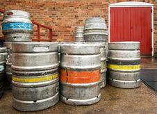 Free Barrels Of Beer Royalty Free Stock Image - 13948926